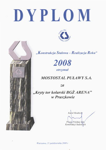 Steel Construction- Realization of the Year 2008