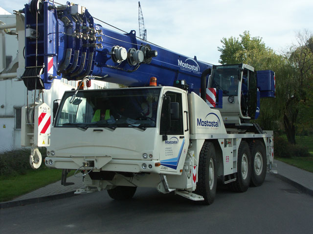 Autokran Terex-DEMAG AC 55-1 55 To