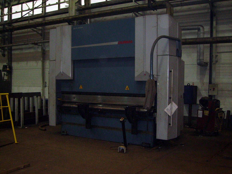 Plate bending: CNC HYDRAULIC PRESS BRAKE 320 T - DURMA AD-S 30320