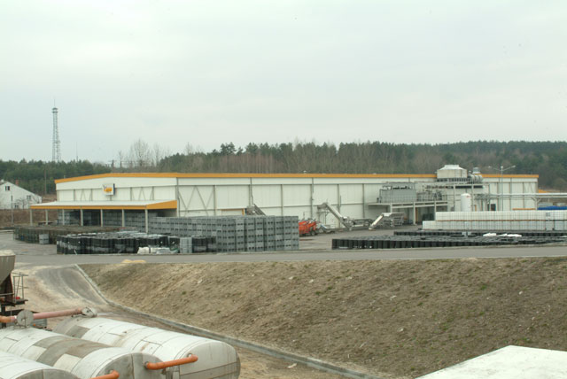 Concentrate warehouse for SVZ Poland Sp. z o.o. in Tomaszow Lubelski, Poland