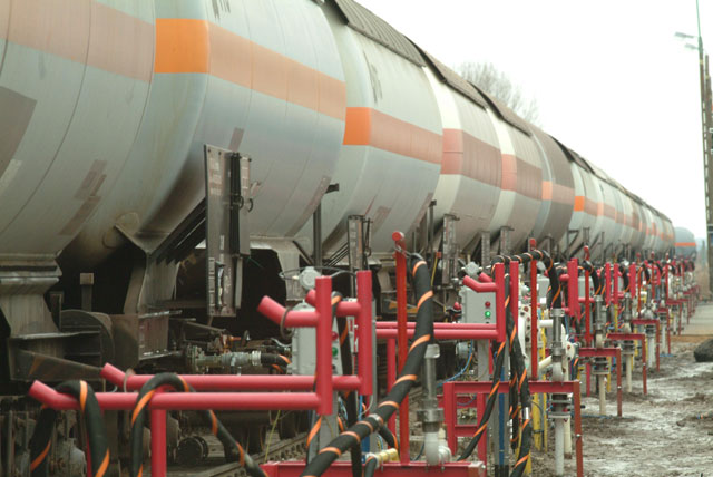 Extension of the trans-shipment terminal for liquid gases in Brzezno near Chelm, Poland